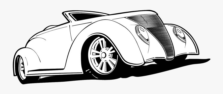 Hot Rod Wheels Clipart X Transparent Png - Hot Rod Line Art, Transparent Clipart