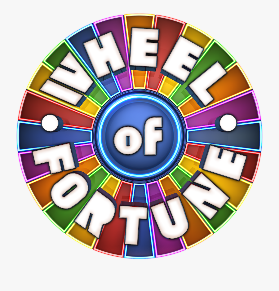 Transparent Wheel Of Fortune Logo Png