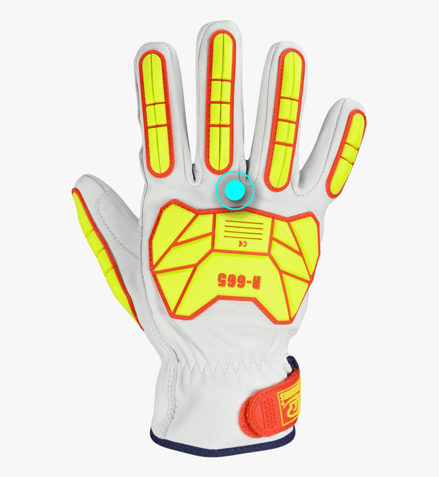 F Technology Safety Fit - Football Glove, Transparent Clipart