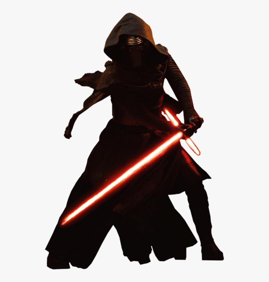 Kylo Ren Standing - Kylo Ren Star Wars Png, Transparent Clipart