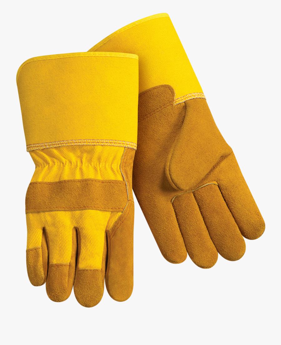 Picture Download Gloves Steiner Industries Leather - Safety Gloves Transparent Background, Transparent Clipart