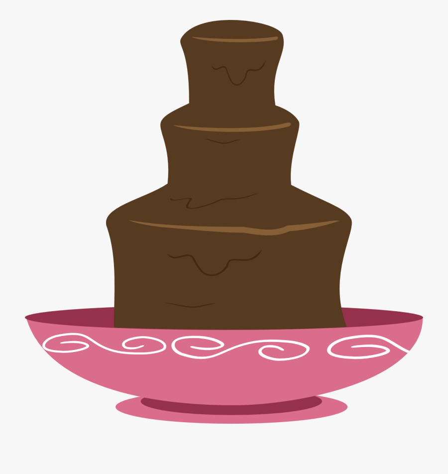 Chocolate Fountain Clipart - Chocolate Fountain Clip Art, Transparent Clipart