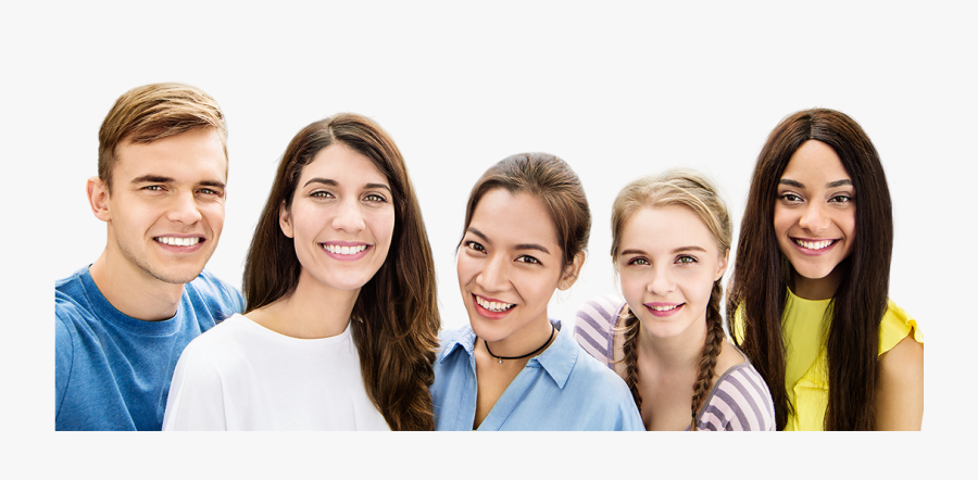 People,social Expression,family Taking Photos - Group Selfie Png, Transparent Clipart