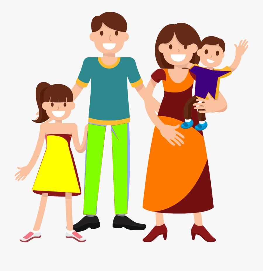 1509565948 Clipart Familie - Family Clipart Transparent Background, Transparent Clipart
