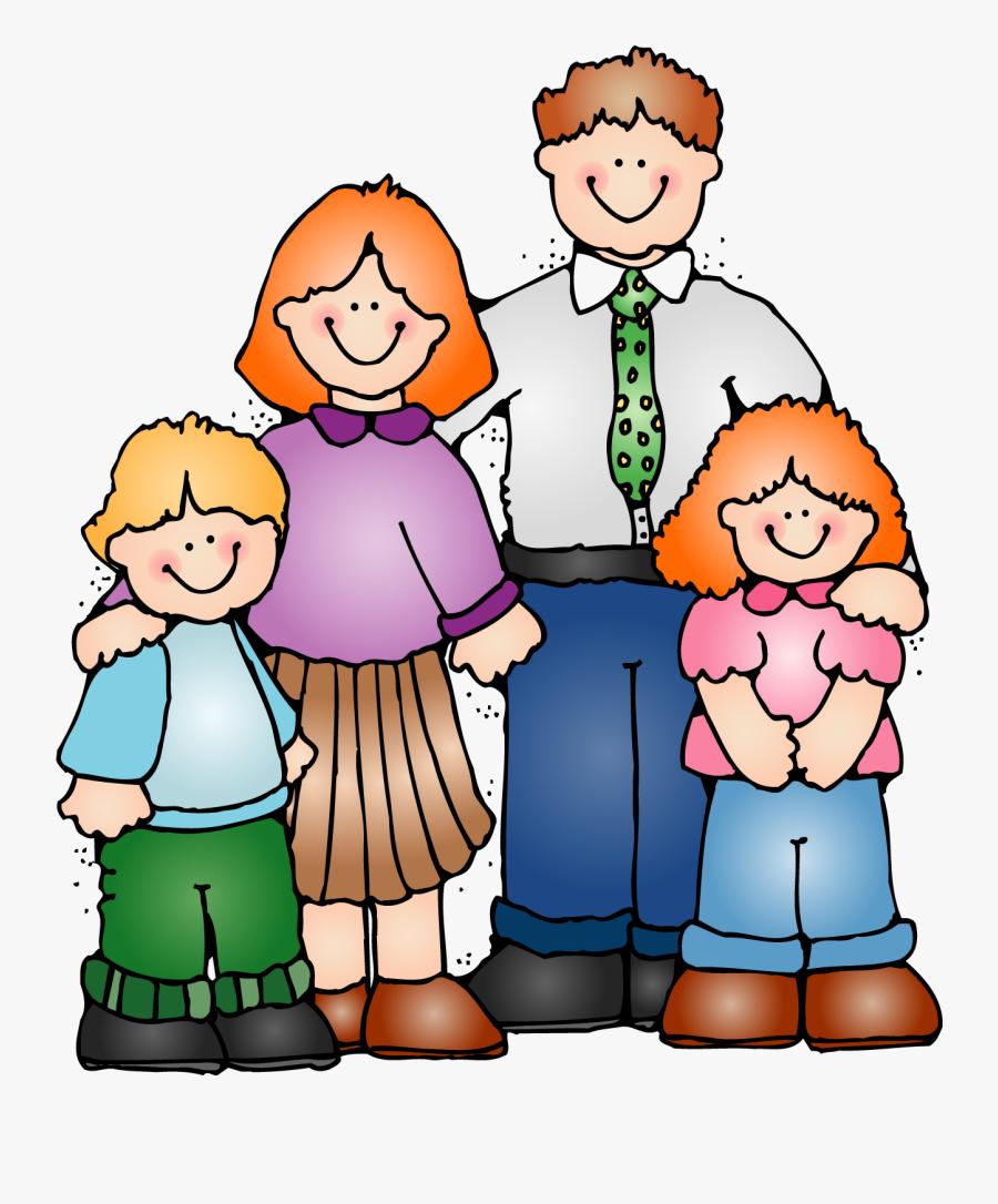 Pastor Clipart Family Memory - Cartoon Transparent Family Png, Transparent Clipart