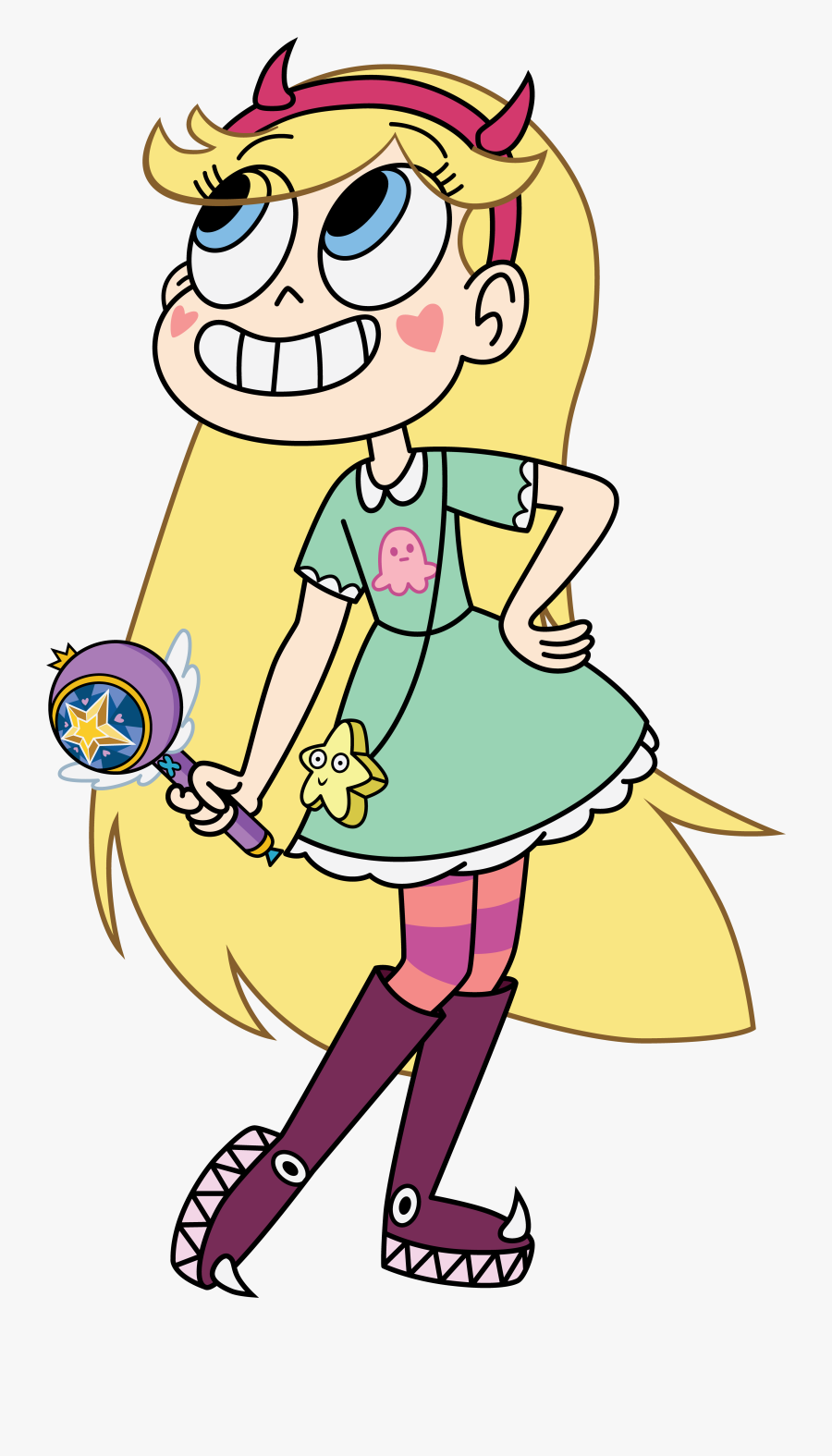 Clip Art Hispanic Family Clipart - Star Vs The Forces Of Evil Star Butterfly, Transparent Clipart