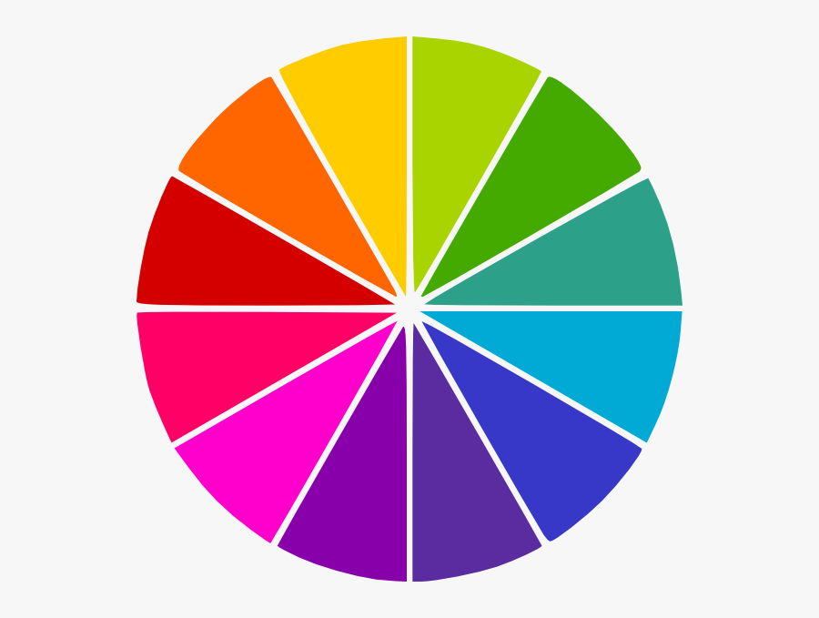 Blank Wheel Of Fortune, Transparent Clipart