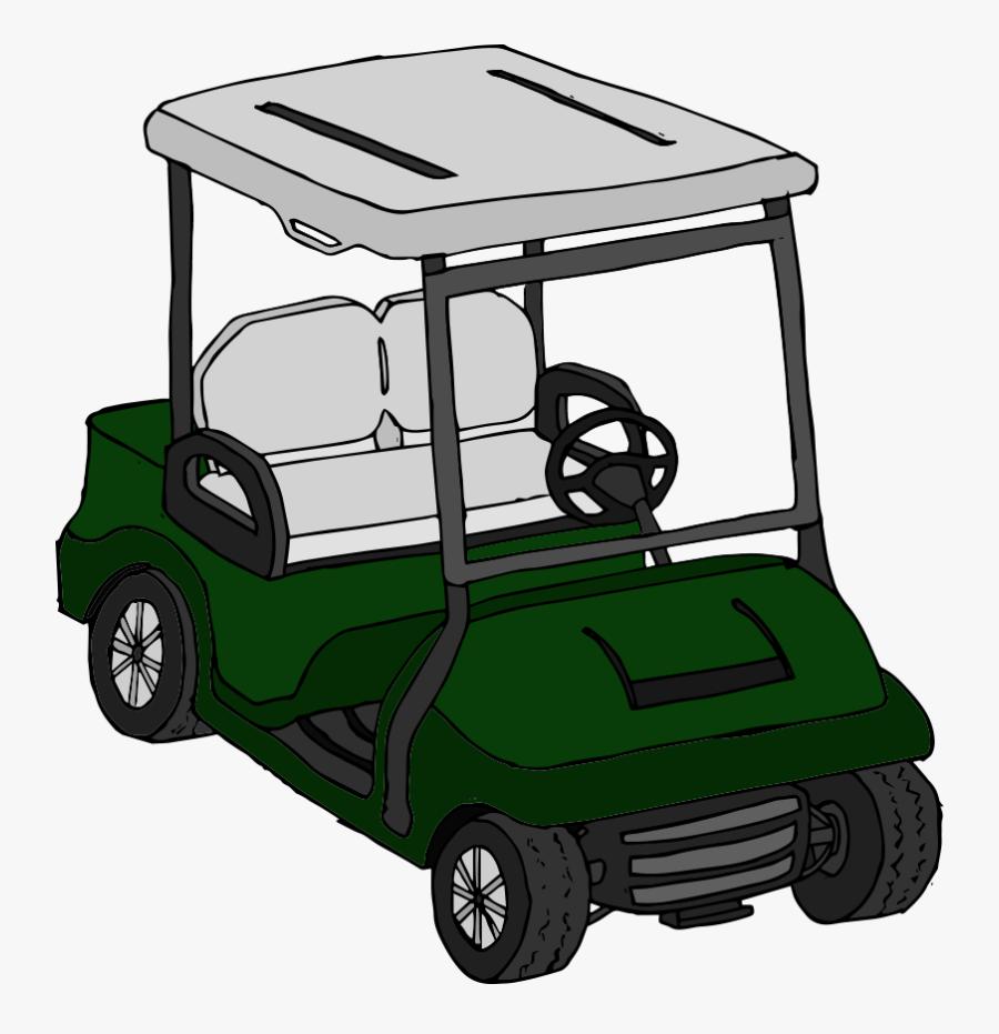 Golf Clipart Golf Buggy - Golf Cart, Transparent Clipart