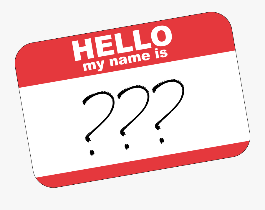 If You Were The Opposite Gender, What Would Your Name - Whats The Name, Transparent Clipart