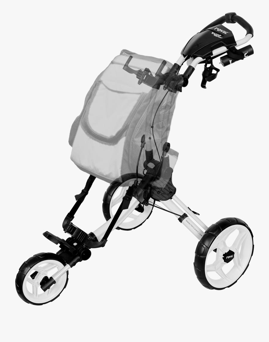 Rovic Rv1d Disc Golf Cart - Disc Golf, Transparent Clipart