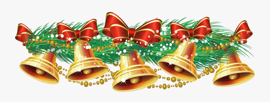 Graphic Transparent Stock Free Christmas Bell Clipart - Merry Christmas Bell Png, Transparent Clipart