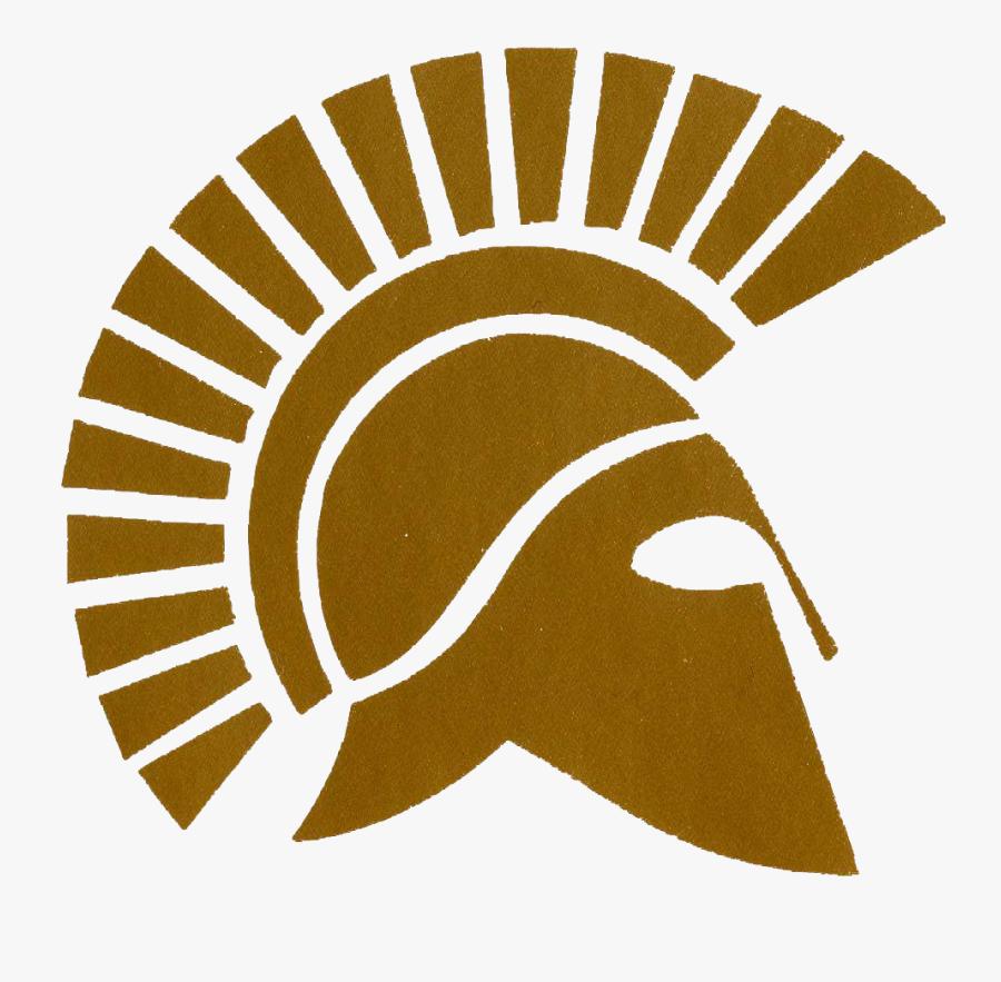Spartan Head Logo - Rio Mesa High School, Transparent Clipart