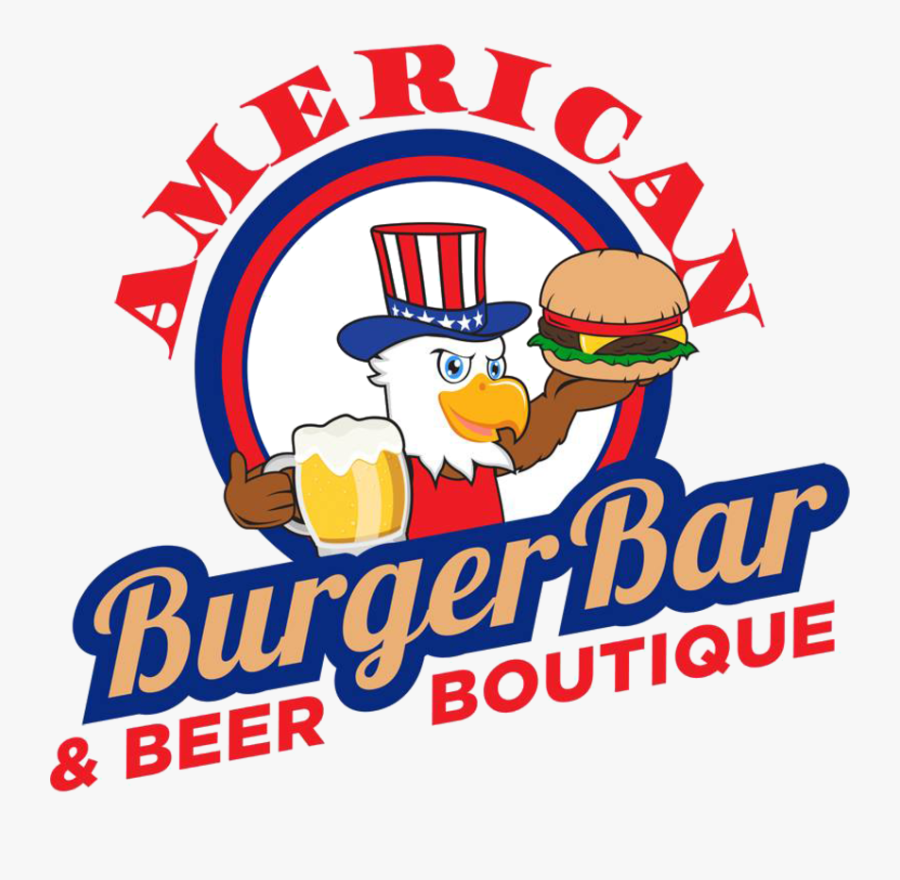 Diner Clipart - 0 - 0 - American Burger Bar And Beer - American Burger Bar And Beer Boutique, Transparent Clipart