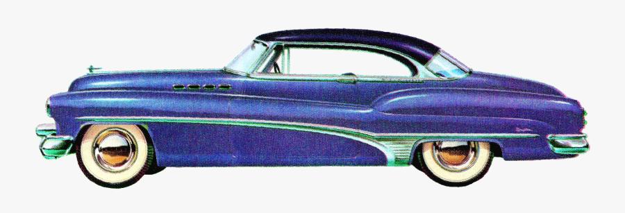 1950 Car Png, Transparent Clipart