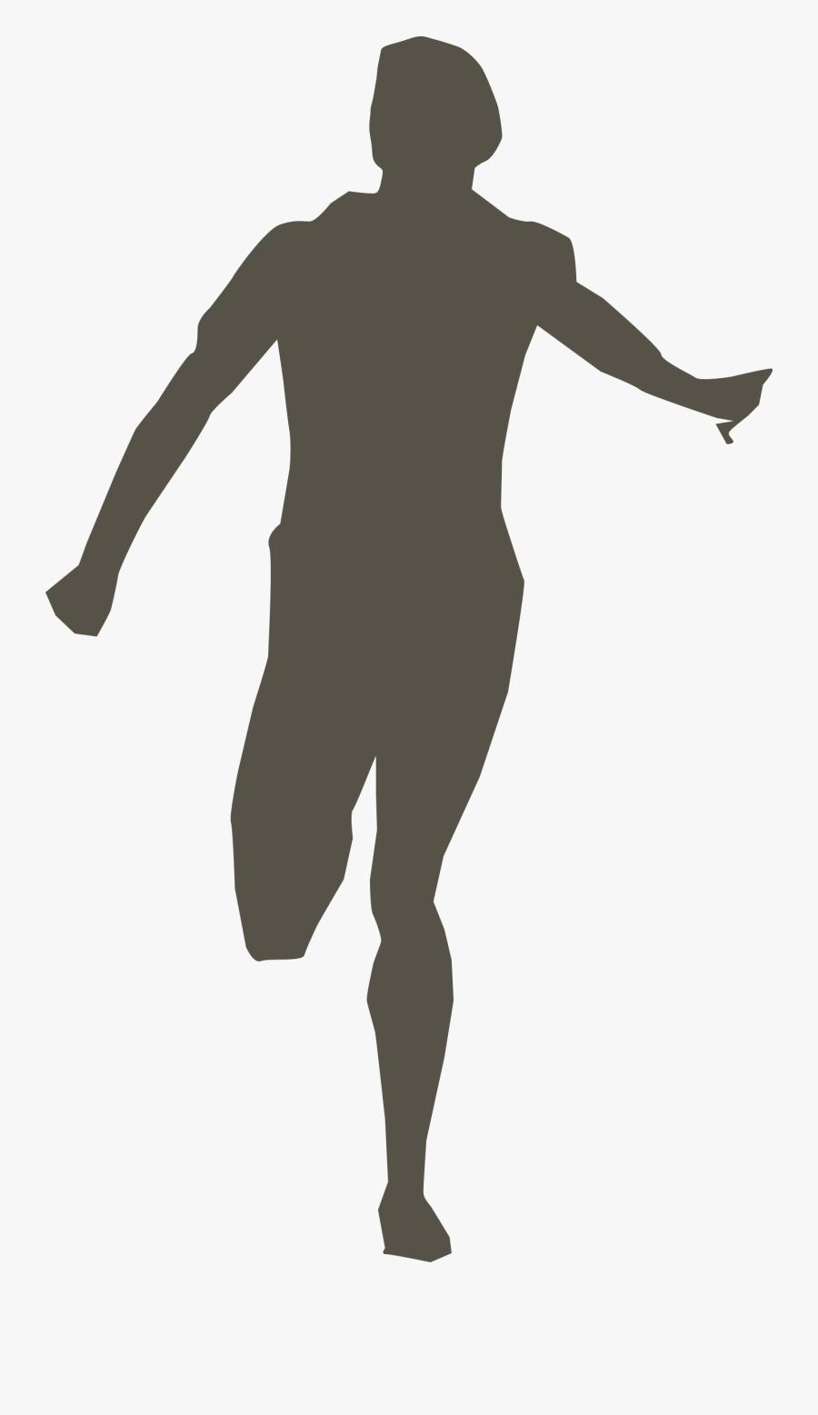 Runner Clip Art - Clipart Runner Silhouette Png, Transparent Clipart