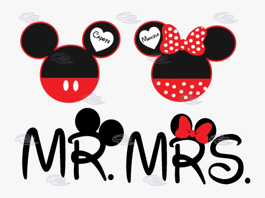Transparent Minnie Head Clipart Mr Mrs Mickey Mouse Free Transparent Clipart Clipartkey