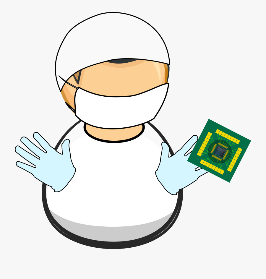 Lab Worker Vector Clipart Image Free Stock Photo Public - Vector Graphics, Transparent Clipart