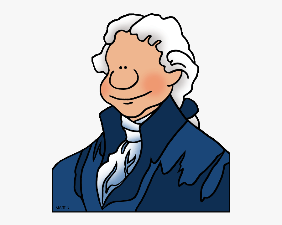 Famous People In Washington Dc - Second Continental Congress Clipart, Transparent Clipart