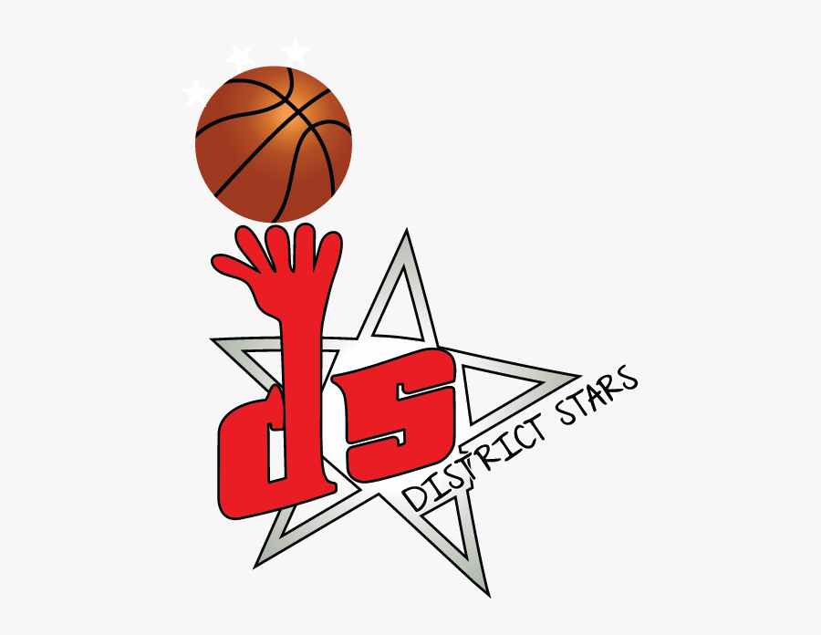 District Stars Youth Foundation - District Stars Aau Basketball, Transparent Clipart