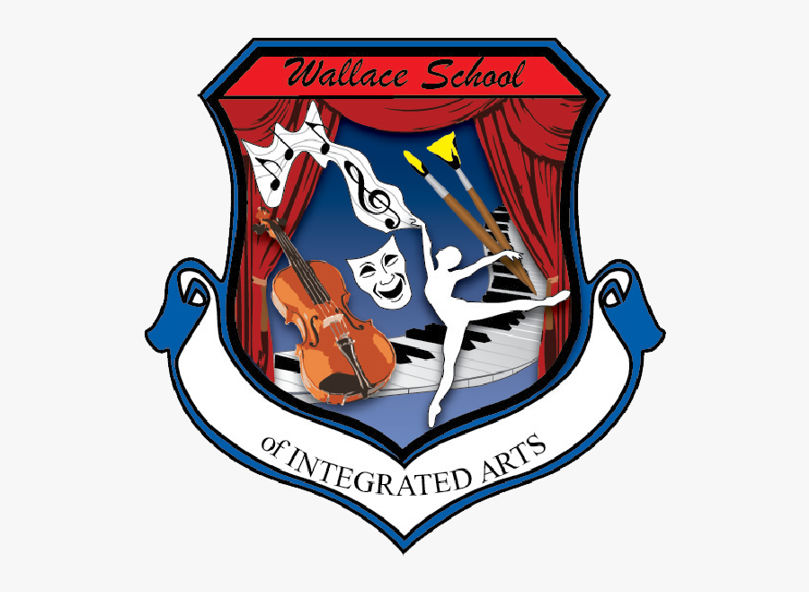 Wallace Elementary School Of Integrated Arts - Central Middle International School Logo, Transparent Clipart
