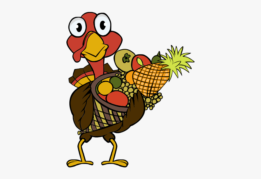 Turkey In A Basket Clipart, Transparent Clipart