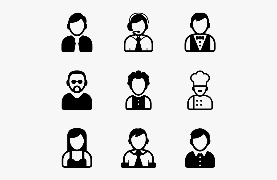 Worker Icons - Employee Icon Png, Transparent Clipart