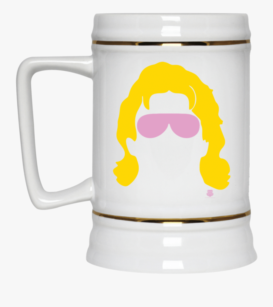 Flair Silhouette Beer Stein 22oz - Rick I M Gonna Need You, Transparent Clipart