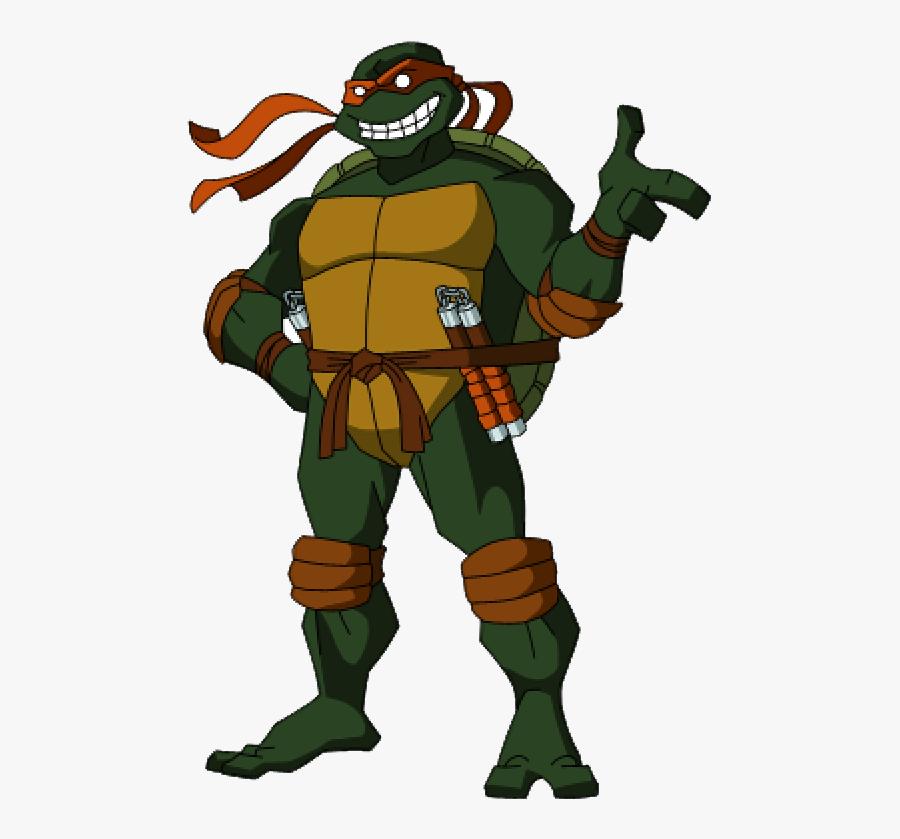 Tmnt Png Clipart - Michelangelo Raphael Teenage Mutant Ninja Turtles, Transparent Clipart