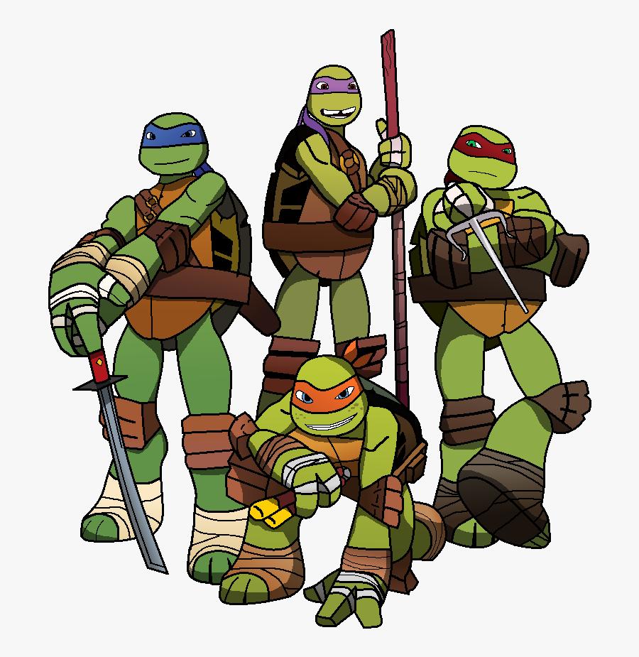 Ask Tmnt By Crystalmoon101 - Teenage Mutant Ninja Turtles Team, Transparent Clipart