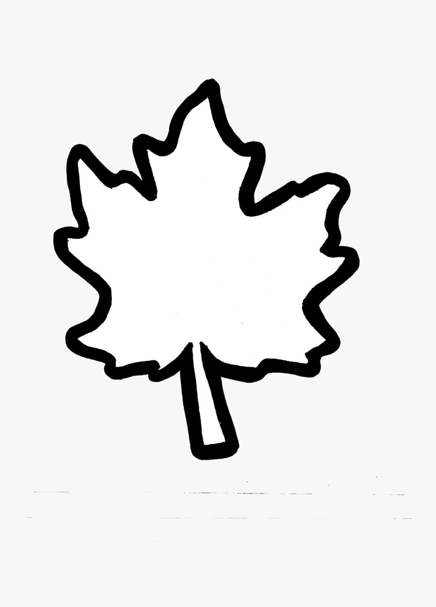 Leaf Outline Fall Leaves Cliparts Abeoncliparts Vectors - Clipart Fall Leaf Outline, Transparent Clipart