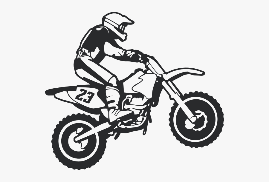 Clip Art Dirt Bike Clip Art Images - Dirt Bike Svg Free, Transparent Clipart