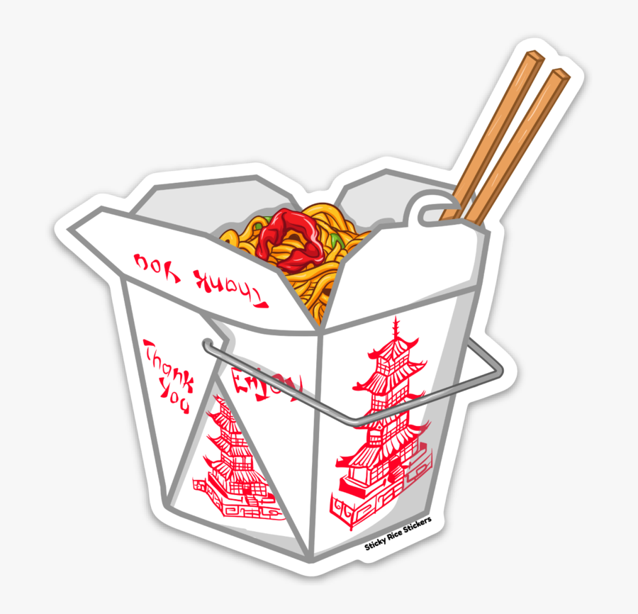 Transparent Chinese Food Png - Chinese Food Sticker, Transparent Clipart