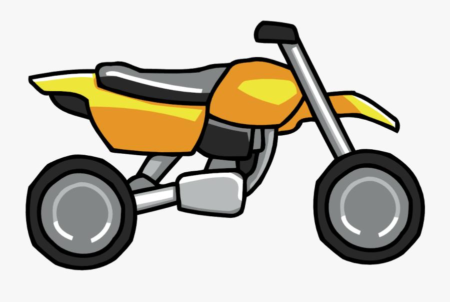 Clip Art Cartoon Dirt Bike - Cartoon Dirt Bike Png, Transparent Clipart