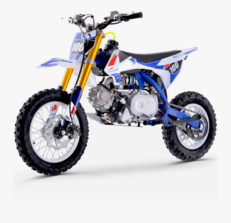 Renegade 110r 110cc 4-stroke Petrol Dirt Bike - 110cc Blue Dirt Bike, Transparent Clipart