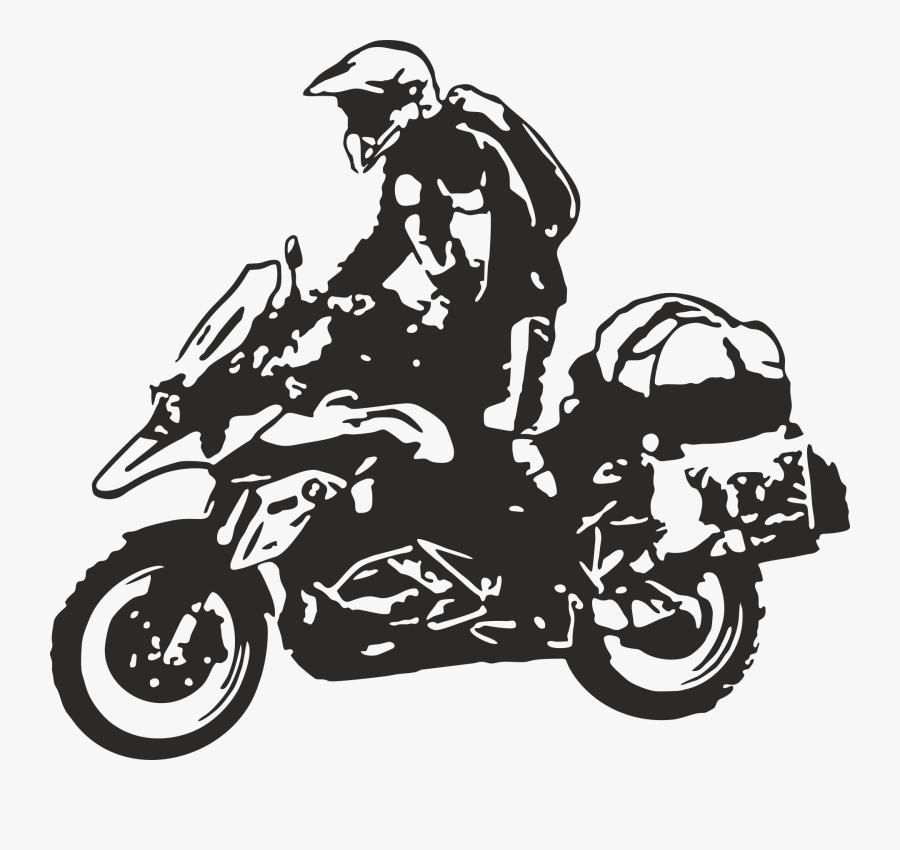 Race Car Clipart Dirt Bike Helmet - Bmw Gs 1200 Vector, Transparent Clipart