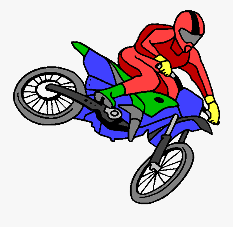 Motocross Free Party Printables And Images - Dirt Bike Coloring Pages, Transparent Clipart