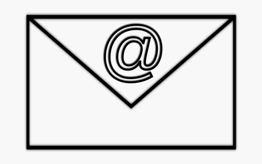 Download Mail And Clip - Mail Black And White Clipart, Transparent Clipart