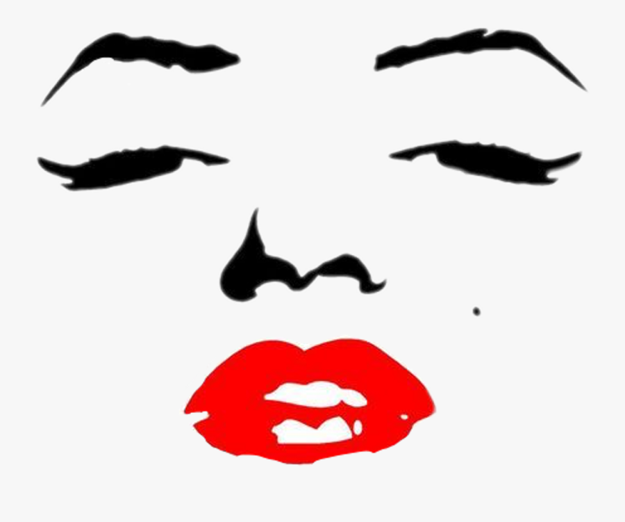 Smile Is The Best Makeup Any Girl Can Wear Clipart - Girl With Red Lipstick Quotes, Transparent Clipart