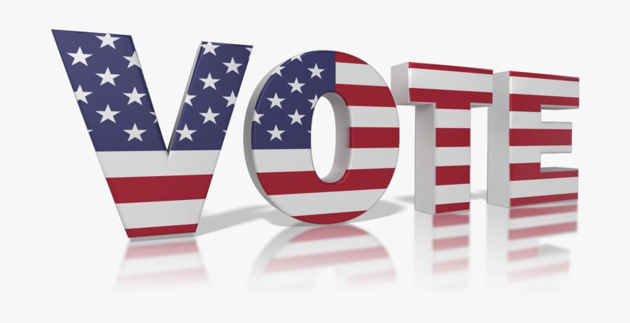 Vote America 800 Clr - Flag Of The United States, Transparent Clipart