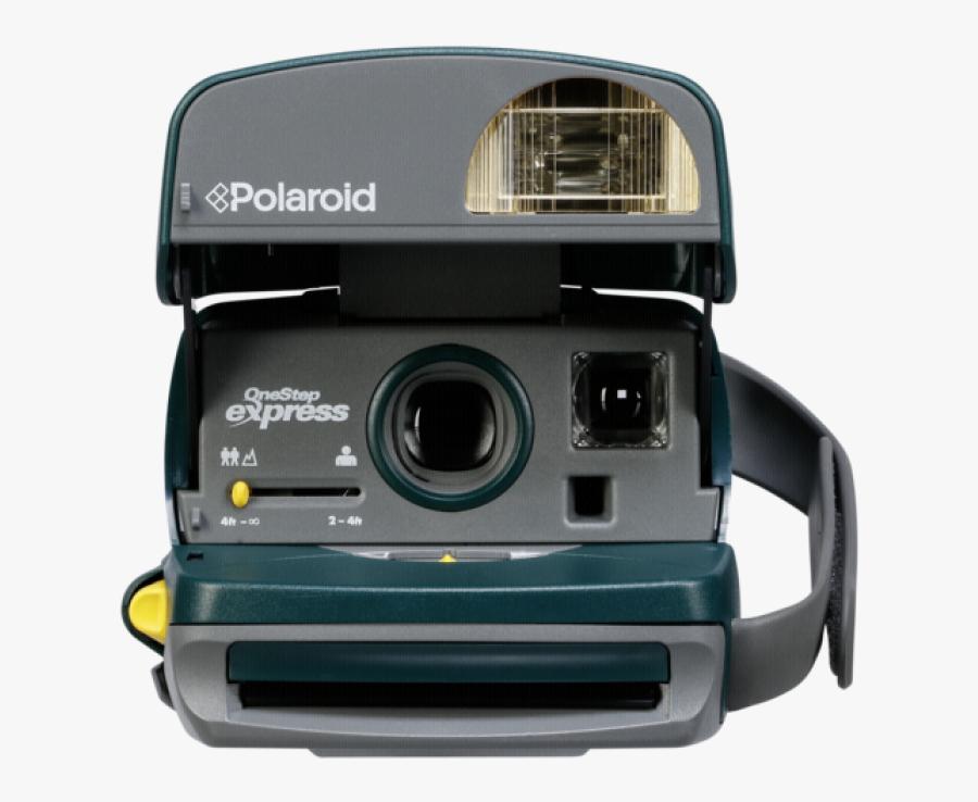 Instant Camera Photographic Film Camera Lens Video - 90's Camera Png, Transparent Clipart