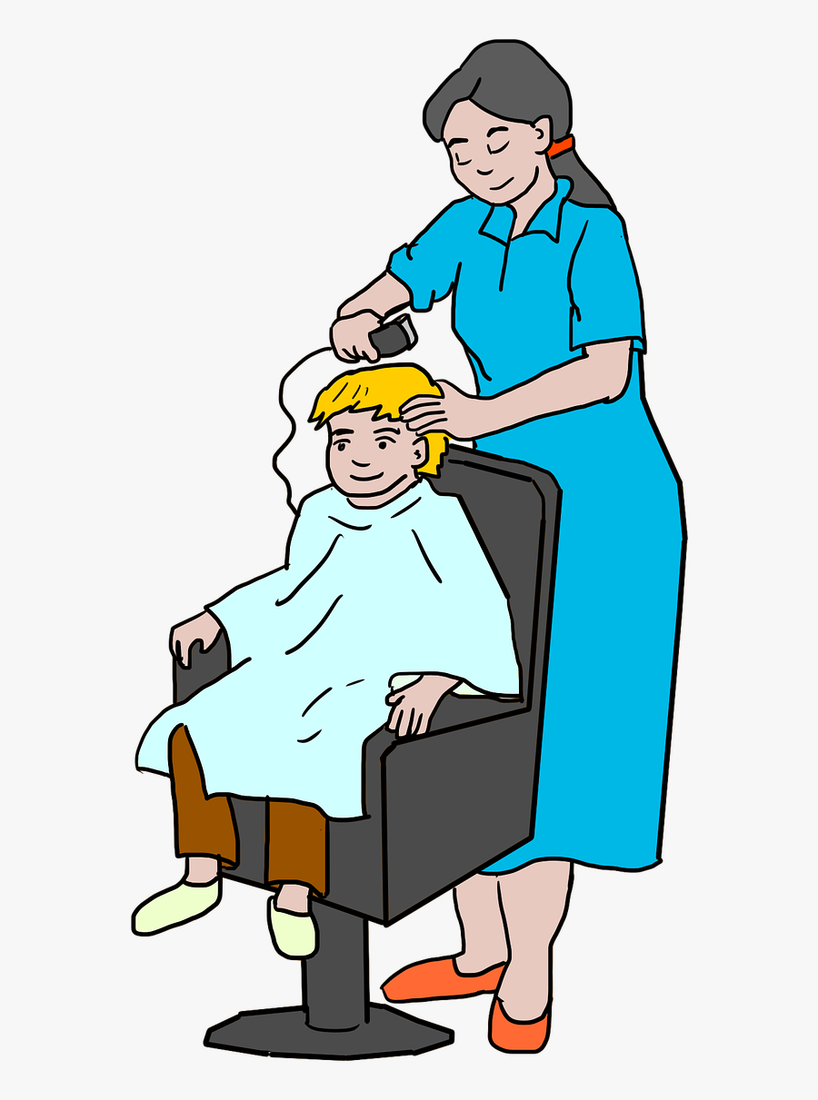 Gambar Kartun Tukang Cukur Free Transparent Clipart