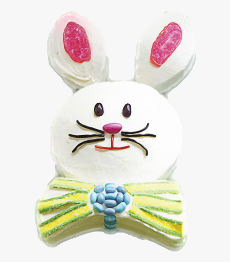Transparent Easter Bunny Ears Png - Bow Tie Easter Cake, Transparent Clipart