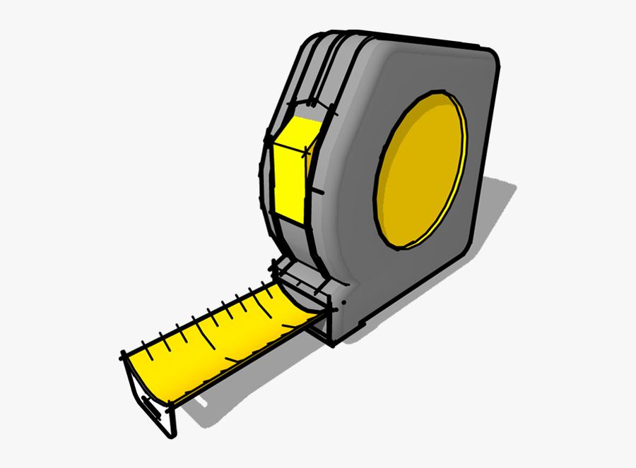 Tape Measures Measurement Tool Clip Art - Transparent Tape Measure Clipart, Transparent Clipart