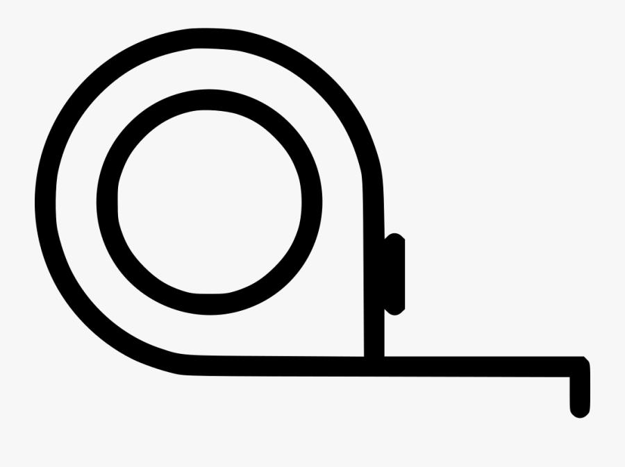 Tape Measure Comments - Portable Network Graphics, Transparent Clipart