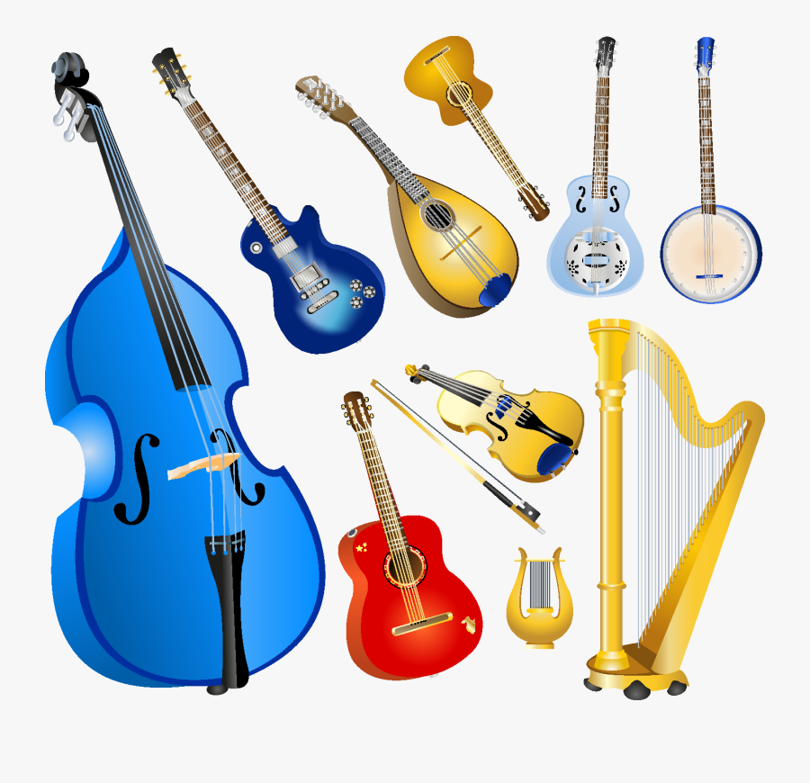 Free Musical Instruments Clip Art with No Background - ClipartKey