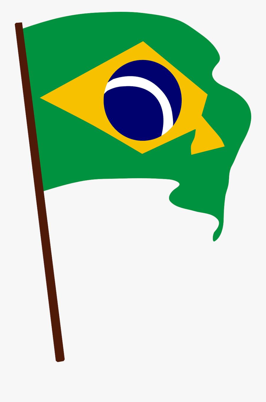 Bandeira Do Brasil Desenho, Transparent Clipart