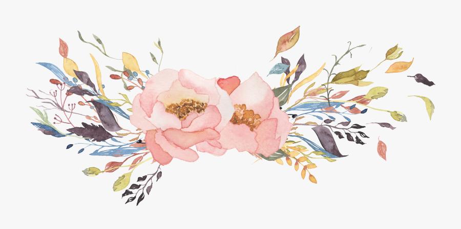 Peony,flowering Paint,floral Design,cut Flowers,magnolia - Transparent Background Watercolor Flowers Png, Transparent Clipart