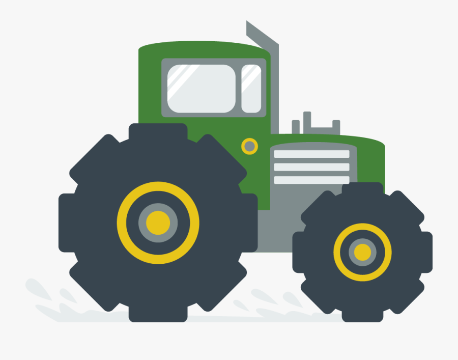 Hurst Farm Supply - Transparent Tractor Icon, Transparent Clipart