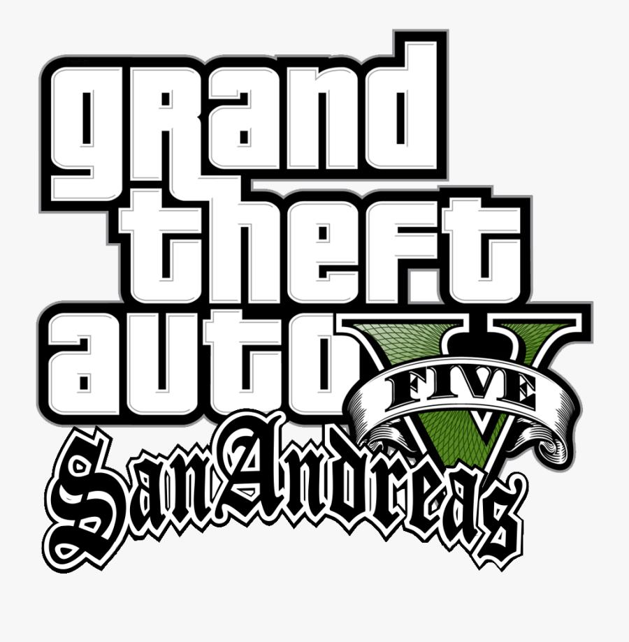 Grand Theft Auto V Gta Clipart - Gta V San Andreas Logo, Transparent Clipart