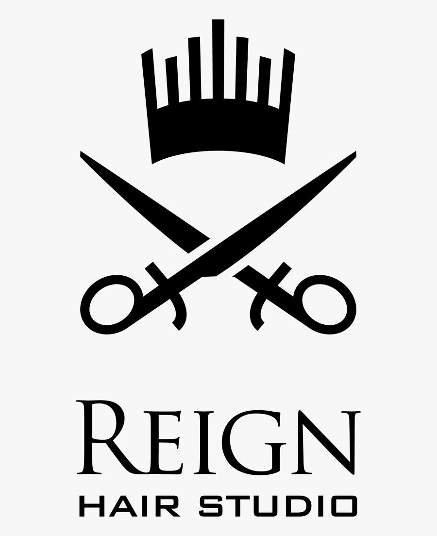 Home Reign Logo Barbing Salon Logo Free Transparent Clipart Clipartkey